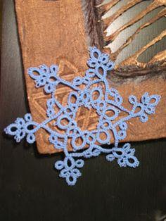 Tatting Patterns | Tatting Adventures: The Snowflake Frivole