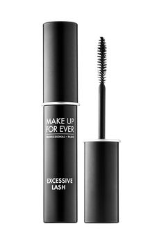 Make Up Forever Excessive Lash Arresting Volume Mascara - Reach for this stubby brush to hit all the baby hairs along your lash line, and trust the long-wear formula to keep you smudge-free for hours.