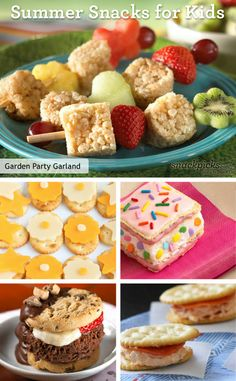 Kid-Friendly Summer Snack Recipes
