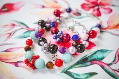 DIY návod na ketlovaný náramek s minerály a perlami SWAROVSKI. Swarovski, Bracelets, Diy, Bricolage, Do It Yourself, Bracelet, Homemade, Arm Bracelets, Diys