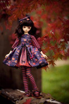 Halloween lolita SD/ MSD / Yo-SD / Blythe set