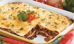 Terrific Taco Lasagna