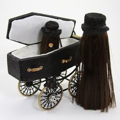 maybe make the coffin buggy for some creepy doll I probably have lying around