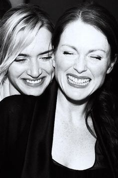 Kate Winslet and Julianne Moore                                                                                                                                                                                 More