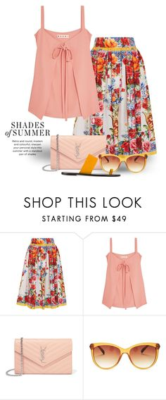 """""""Jun 25th (tfp) 3859"""" by boxthoughts ❤ liked on Polyvore featuring Dolce&Gabbana, Marni, Yves Saint Laurent, Lucky Brand, All Tomorrow's Parties and tfp"""
