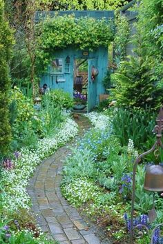Dream garden.  Does this really exist?