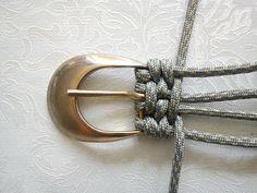 idea, crafti, macrame belt, knitting, macramé, diy complemento, belts