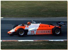 Bruno Giacomelli Alfa Romeo 182 F1 British GP Brands Hatch 1982 by Antsphoto, via Flickr