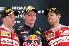 Spain 2016, Max, Kimi and Sebastian #SpanishGP #F1 2016