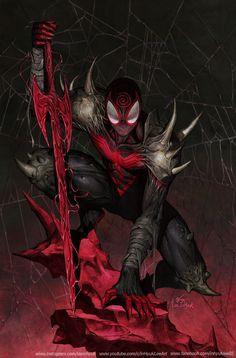 Spiderman Art, Amazing Spiderman, Spiderman Images, Spiderman Suits, Marvel Comic Character, Comic Book Characters, Marvel Art, Marvel Heroes, Marvel Venom
