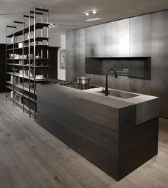 Modern Kitchen Interior - A contemporary kitchen design means different thing to different people. For some it is a clean bold look, for others […] Contemporary Kitchen Design, Modern House Design, Interior Design Kitchen, Modern Interior Design, Dirty Kitchen Design, Modern Contemporary, Kitchen Designs, Modern Luxury, Room Interior