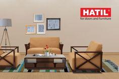 Sofa Set Price, Wooden Sofa Set, 2 Seater Sofa, What's Trending, Industrial Furniture, Kids Room, Doors, Bedroom, Interior