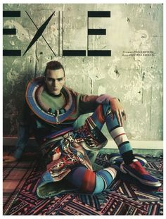 Paolo Roversi Shoots Gryphon OShea in Spring Prints for Vogue Hommes International