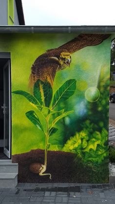 Airbrush, Aquarium, Illustration, Painting, Air Brush Machine, Goldfish Bowl, Aquarium Fish Tank, Painting Art, Paintings