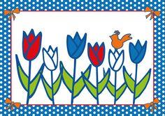 Ansichtkaart Studio Holland Tulpen #Holland #tulpen #bloemen #Nederland #Postcrossing