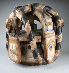 Yoruba Gelede (Efe) Mask, Nigeria
