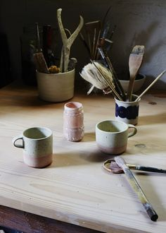Hand painted Shiko ceramics. Photography – Sean Fennessy.
