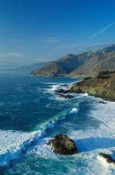 Big Sur, California -- The Mr. and I are planning to take a day trip here when we're in San Fran!