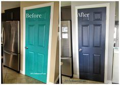 Navy Pantry Door ~ 2
