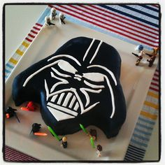 #darthvader #cake #happybirthdaybastian nice job @sdwoodroffe