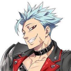 Ban Anime, Anime Ai, Seven Deadly Sins Anime, 7 Deadly Sins, Hot Anime Boy, Cute Anime Guys, Susanoo Naruto, Arte Van Gogh, Seven Deady Sins