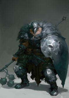 ArtStation - warrior, Li xingchi