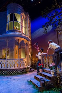 University of Southern Indiana's scenic design for Picnic 2015