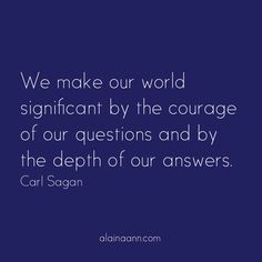 We make our world si...