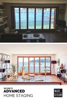Transformation - - Home Staging in Costa Brava by Markham Stagers Barcelona. Welcome to Advanced Home Staging Home Staging, Villas, Costa, Windows, Living Room, Barcelona, Staging, Interior Design, Flats