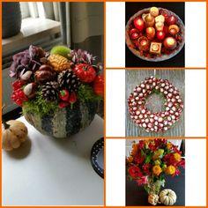 Herfst, autumn - kaarsen, candles