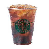 Starbucks Iced Americano -  Oh liquid energy in any coffee form, I could not get by without you