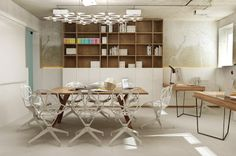 An office in Kiev by Archiplastica. - The Grey Home