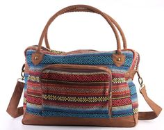 Hey, I found this really awesome Etsy listing at https://www.etsy.com/listing/204303905/southwestern-overnight-travel-bag-carry