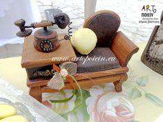 macaron on a chair... ARTopoiein decoration store www.artopoiein.eu