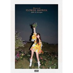 HyunA has revealed garden teaser images for her solo comeback single 'Flower Shower'.After teaser images of HyunA lit up i… Mamamoo, Kpop Girl Groups, Kpop Girls, Hyuna Kim, Flower Shower, E Dawn, Cube Entertainment, Pink Outfits, Me Me Me Song