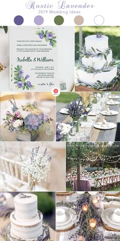 7 Exceptional Purple Color Combos to Rock for weddings for spring fall and winter watercolor wedding invitations wedding bouquets wedding cakeswedding table settings wedding decorations Lavender Wedding Theme, Purple Wedding Cakes, Purple Wedding Flowers, Beautiful Wedding Cakes, Wedding Bouquets, Lavender Weddings, Wedding Dresses, Spring Wedding, Dream Wedding