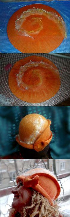 Шляпки со спиральным разрезом - Ярмарка Мастеров - ручная работа, handmade