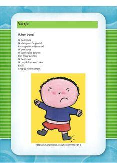 Versje: Ik ben boos! Poetry, Drama, Language, Kids, Calendar, Young Children, Boys, Dramas, Languages