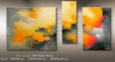 Resultado de imagem para pinturas al oleo abstractas contemporaneas