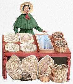 Mary Anning Unit Study - fossil hunter and paleontologist - part of Women in Science: 50 Fearless Pioneers Who Changed the World Unit Study Series - FunSchoolish Eagle Facts, Primary History, Origin Of The World, Fossil Hunting, Lyme Regis, Girl Empowerment, Jurassic Coast, Extinct Animals, Women In History