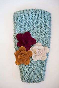 Knitted Headband - Love