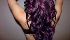 dark hair with purple highlights | Purple Hair - 11 Crazy Hair Colors You Wish You Had ... | All Women ...