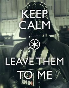 darth vader will take care of it.