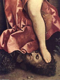 Judith (detalhe) por Giorgione (Giorgio Barbarelli Da Castelfranco) (1477-1510, Italy)