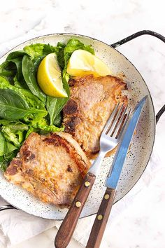 Honey mustard pork chops are simple, delicious, and easy on the pocket! We share the recipe: https://foodal.com/recipes/pork/honey-mustard-chops/