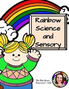 10 ideas and activities for science and sensory centers. Includes great fine motor activities and science journals.Who Can Play Preschool Kindergarten  Homeschool Let's PlayIn this resource you are getting:ScienceColored Carnations (with Science Journal)Group Fingerprint RainbowGlitter Slime (with Science Journal)Paint Chip SortingRainbow Goop-leck TraySensoryRainbow Pasta Sensory BinRainbow BraceletsRainbow IceColor Sort PastaCoffee Filter Rainbows
