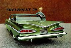Hey. . .We had a 1959 Chevrolet like this When I was Growing up ~ I Would Sneak Out at Night & Teach Myself how to Drive in it!!!