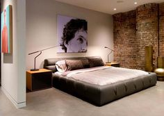 Mens Bedroom Wall Decor 22 bachelor's pad bedrooms for young energetic men | bedrooms