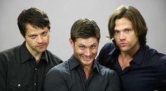 Goofy Supernatural Cast-- Gotta love 'em! :)