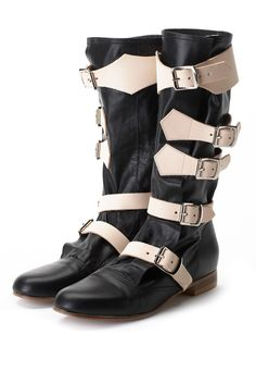 Pirate Boot Black | Vivienne Westwood